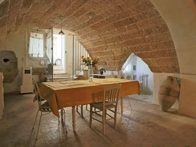 Photo for La Grotta apartment in Matino with WiFi & private terrace.