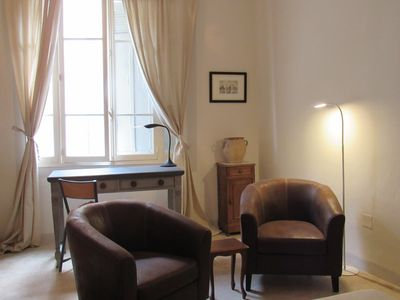 Photo for In the very HEART of old town, a serene and sophisticated Provençal appartement