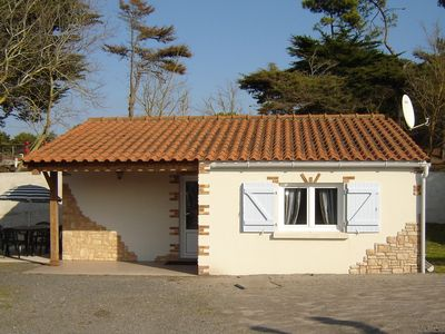 Photo for Small cozy house, 300 m beach, barbecue, wi-fi, spa