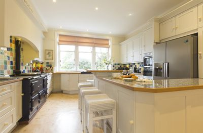 Classic Country House kitchen with AGA
