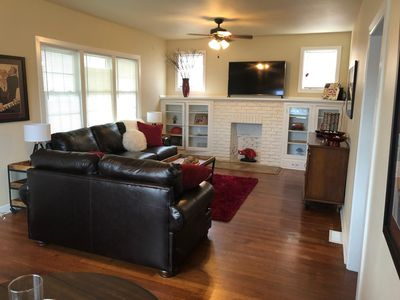 Photo for 4 bedroom, 3 bath house is right in the heart of the U of A campus