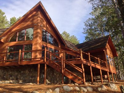 Photo for Beautiful Executive Lake Home on Peninsula with 657 ft Lake Frontage