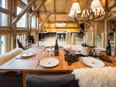 Photo for Ferme Maison Neuve, Modern Luxury Chalet with Sauna in Sixt