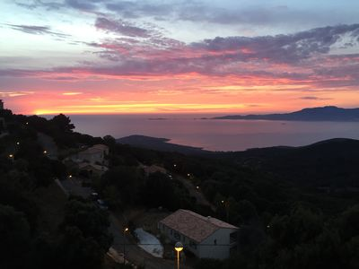 Photo for HOUSE 8 PEOPLE MAGNIFICENT VIEW GULF AJACCIO
