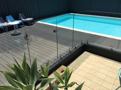 Photo for Barrenjoey Beach House with 10 x 5 mt swimming pool.