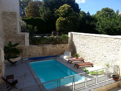 Photo for House sleeps 12 with pool in a village in the Gard near Nîmes