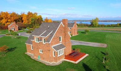 Photo for Quaint Brick Built English Cottage in the Finger Lakes Overlooking Seneca Lake