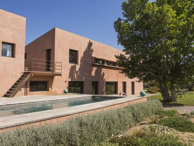 Photo for Large architect house in the middle of olive trees