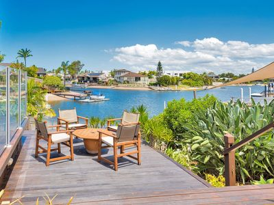 Photo for Warm & Welcoming Waterfront Entertainer - Peaceful Water Views - Family Friendly