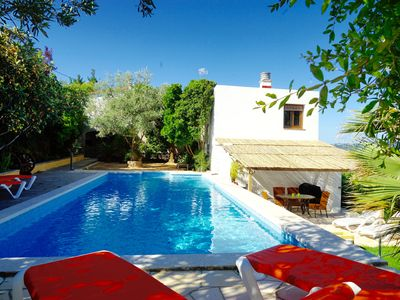 Photo for Cottage for 4 - 6 people, pool 11.5 x 4.5 m, garden, quiet location, near the beach