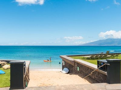 Photo for March Date OPEN - rate includes activities!  Enjoy a Sandy & Swimmable Beach at Kahana Sunset C2C!