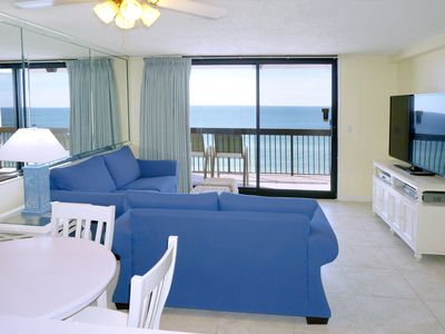 Photo for TRUE BEACH FRONT ~ AMAZING VIEW * Newly updated - Sleeps 5