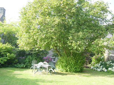 Photo for Beautiful Gite, near St Malo and Dinan. Fully restored, lovely garden. Quiet