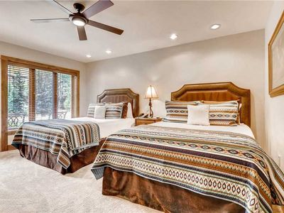 Photo for Ground level condo, ski-in/ski-out access, shared pool and hot tub on-site