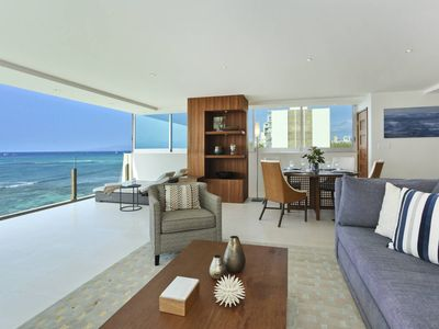 Photo for MESMERIZING Oceanfront Views; Impressive 2 Bedroom, 2 Bath with Washlets!