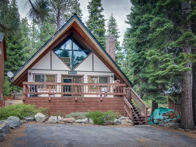 Photo for Homey and inviting dog-friendly cabin in convenient location