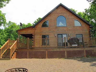 Photo for Beautiful Log Cabin Overlooking Raystown Lake