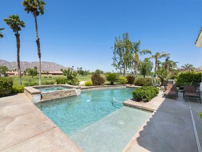 Photo for West facing heated pool home overlooking the 6th tee box of the Jack Nick!