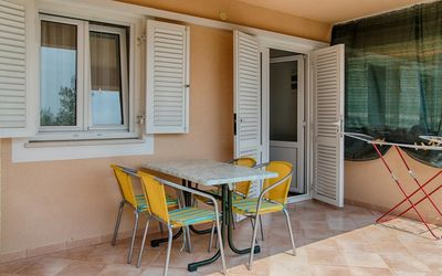 Photo for One bedroom apartment with terrace and sea view Sveta Nedilja, Hvar (A-14086-b)