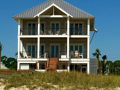 Photo for Doin' Nuttin-4 Bedroom Oceanfront Home With Pool