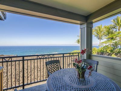 Photo for Halii Kai Luxury Condo | Ocean Front | Central AC