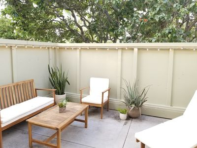 Photo for Bright, Ground Level, Corner unit with Private lanai, on East Course!  Updated!