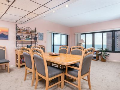 Photo for Coffee & Sunrises - Oceanfront w/ Pool in North Ocean City!