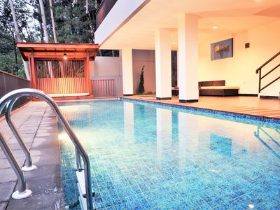 Photo for 6 BR Hill View Villa with a private pool 1