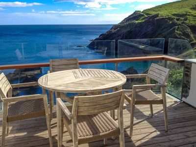 Photo for Astonishing views from an unbelievable position in the glorious village of Portloe