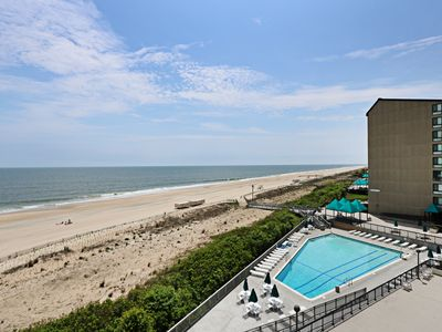 Photo for F501: MINI-WEEKS! 2BR+den Sea Colony Oceanfront Condo! Beach, pools, tennis ...