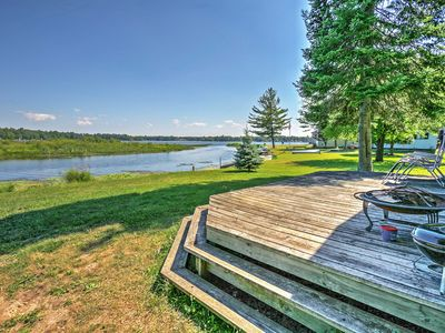 Photo for Lakefront 2BR Hale Cabin w/ Access to Boat Ramp!