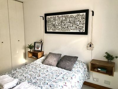 Photo for Cozy & cool apartment for 3, great location: 4 blocks from Gral. San Martin Park