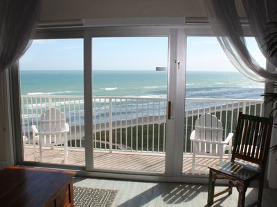 Photo for Beach Penthouse! 3 balconies Sunrise & Sunset views, kids loft, pool.