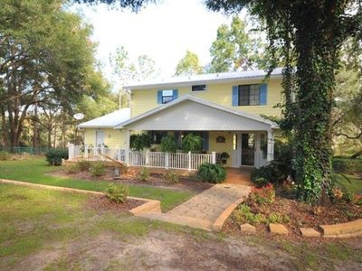 Photo for 4 BR/3 BA Riverfront Home on the Suwannee River