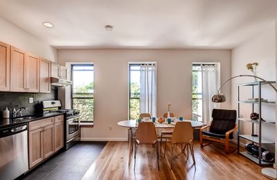The property features modern amenities and furnishings for 6 to enjoy.