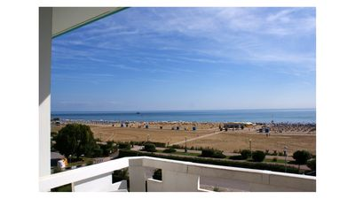 Photo for Beachfront Condo Sea View - Airco - Covered Private Parking - Beach Place