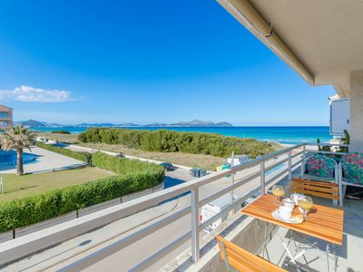 Photo for YourHouse Fonoll Mari - nice sea view apartment a few steps from the beach