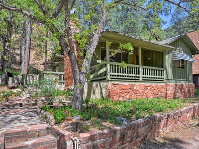 Photo for Oak Creek Canyon Cabin w/Heat - Walk to West Fork!