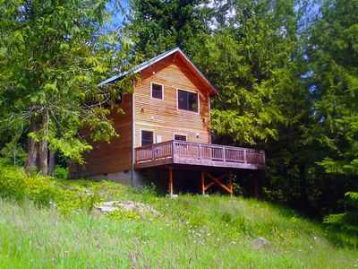 Our Little House in the Woods-Nestled in the forest in a private setting
