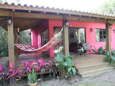 Photo for Beautiful house in gated community prox.  the Praia do Rosa