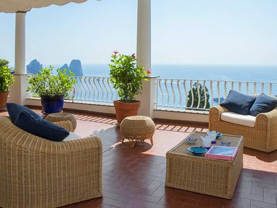 Photo for APARTMENT WITH TERRACE AND STREETY SEA VIEW ON THE SEA - FREE WIFI