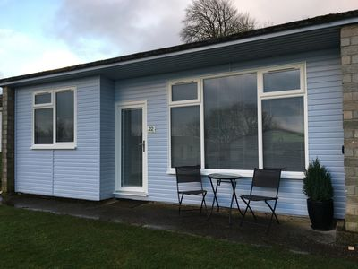 Photo for Two Bedroomed Pet Free  Chalet alongside the South West Coast Path