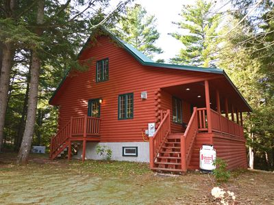 Photo for Sunday River Luxury Cabin, 100+ 5-Star Reviews! 21' Gazebo! Hot Tub, Wi