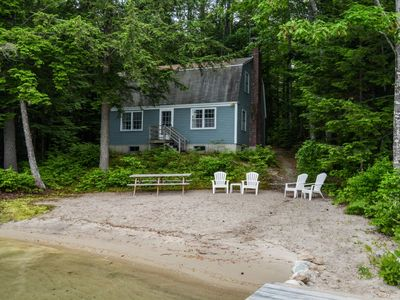 Photo for Simple, Quiet and Sublime, This Classic Lake House is Feet From Crystal Waters