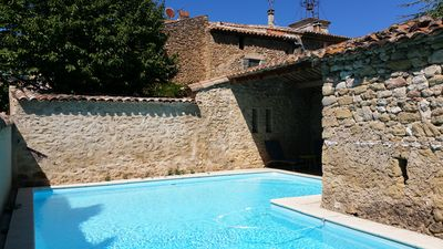 Photo for Charming Renovated Old House next to Lourmarin with swimming pool and A/C