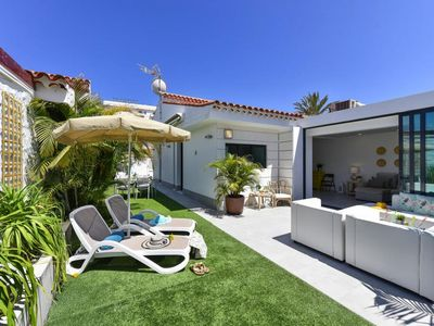 Photo for Bungalow, Playa del Inglés  in Gran Canaria - 6 persons, 3 bedrooms