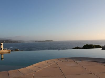 Photo for 250m2 villa on the south shore of Ajaccio superb sea view, close to the beach and shops