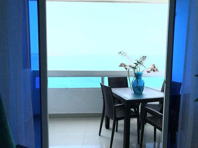 Photo for Spectacular Waterfront flat in the romantic city of Cartagena