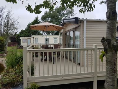 Photo for Stunning holiday home with decking Southview Holiday park Skegness ref 33070S