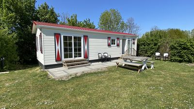 Photo for Spacious 6 persons holiday chalet on child-friendly mini camping in Veere